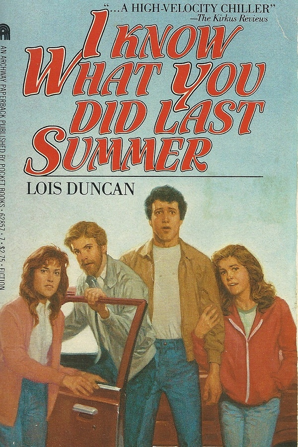 "a report on the book i know what you did last summer by lois duncan ""i know what you did last summer"" was based on the 1973 novel of the same name by lois duncan  yes i did read the book in  i know what you did last summer."