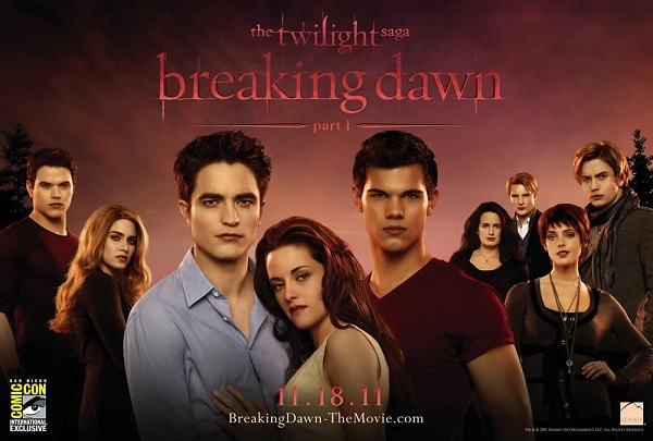 The Official FYA BREAKING DAWN, PART 1 Drinking Game