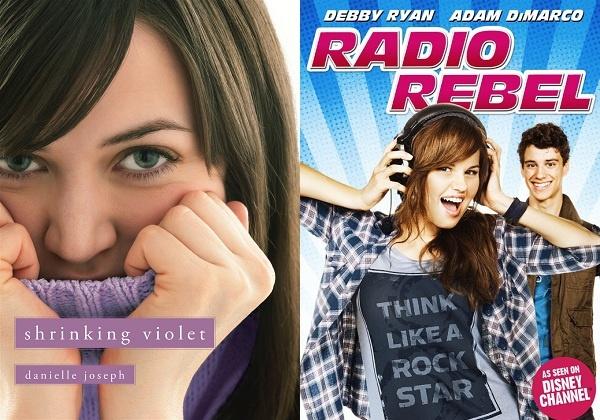 Book vs. Movie: Shrinking Violet vs. Radio Rebel