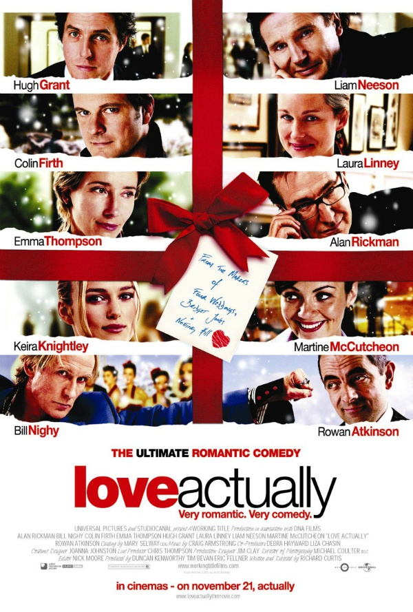 The FYA Advent Calendar: Day Eleven (The LOVE ACTUALLY Drinking Game)