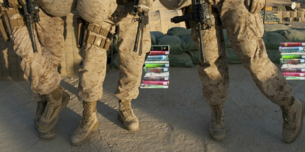 A Day in the Life of a Closet YA Reader in the Military: Field Edition