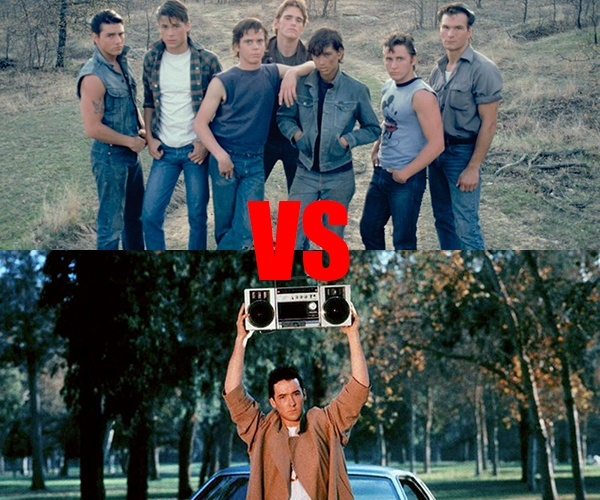 Teen Movie Madness FPJ Deathmatch: THE OUTSIDERS vs SAY ANYTHING
