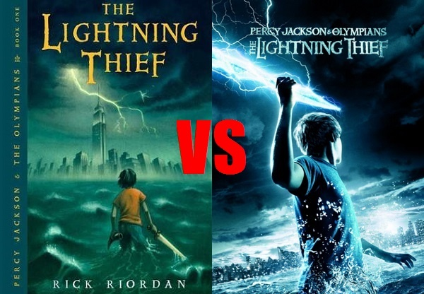 Book vs. Movie: The Lightning Thief