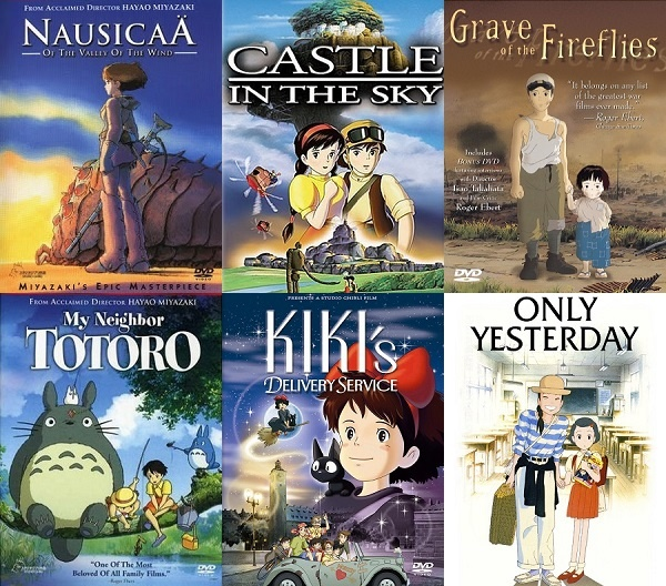English Cartoon Movies List