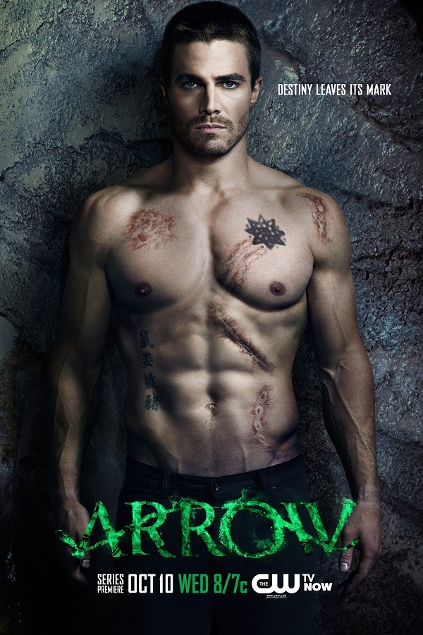 Shirtless News: ARROW Edition