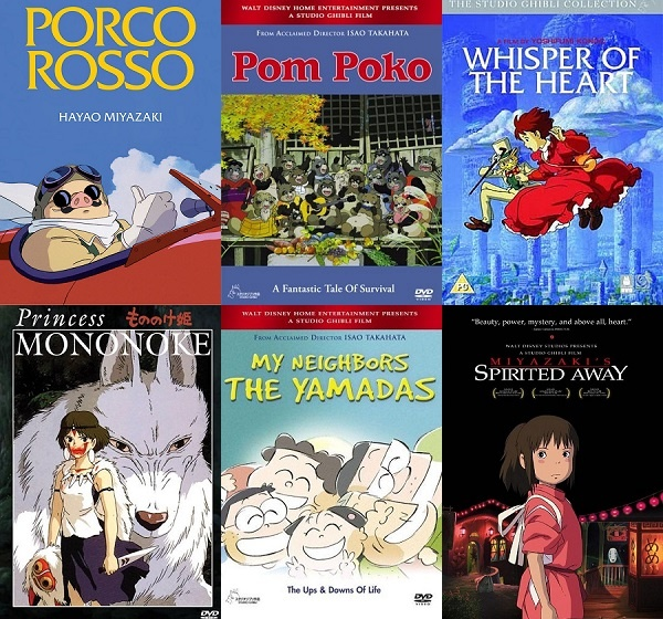 Exploring The Studio Ghibli Vault 1992 To 2001 Forever Young Adult