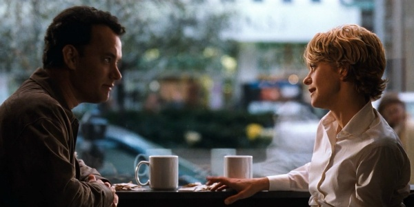 salah satu scene di film You've Got Mail