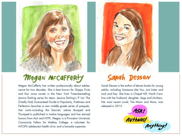 Introducing Megan McCafferty's Ask! Authors! Anything!