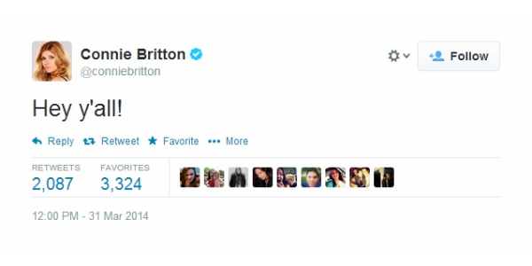 YA Movie News Roundup: Connie Britton Has Joined Twitter, Y'all!
