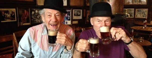 Your New Fake Uncles: Ian McKellen and Patrick Stewart