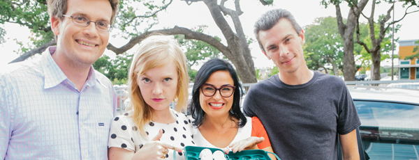 That Time We Egged A Car With John Green And Josh Boone
