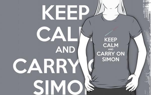 Keep Calm and Carry On Simon