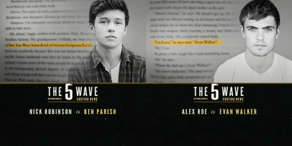 YA Movie News Roundup: Zombie And Evan Have Been Cast For THE FIFTH WAVE