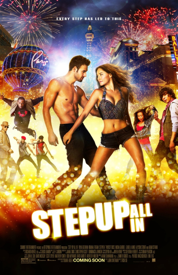 Giveaway: STEP UP ALL IN