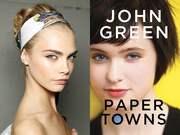 Cara Delevingne Cast as PAPER TOWN's Margo Roth Spiegelman