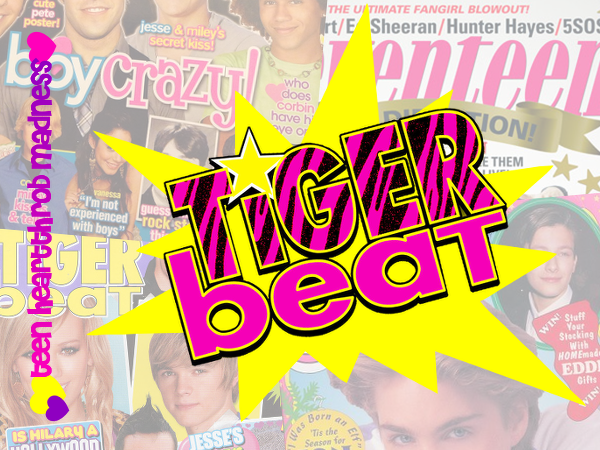 Teen Heartthrob Madness: Tiger Beat, Elite Eight