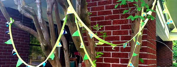 Make Your Own: Tiny Bunting